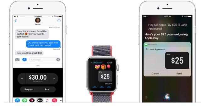 Apple Pay Cash đã bắt đầu hoạt động trên iOS 11.2 - Ảnh 1.