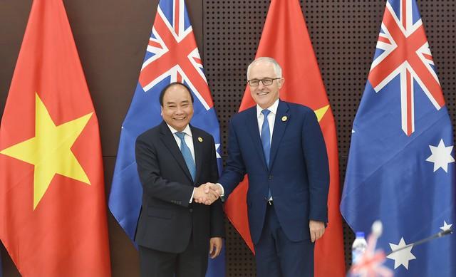 Thủ tướng Việt Nam, Australia nhất trí nâng cấp quan hệ lên Đối tác chiến lược - ảnh 1
