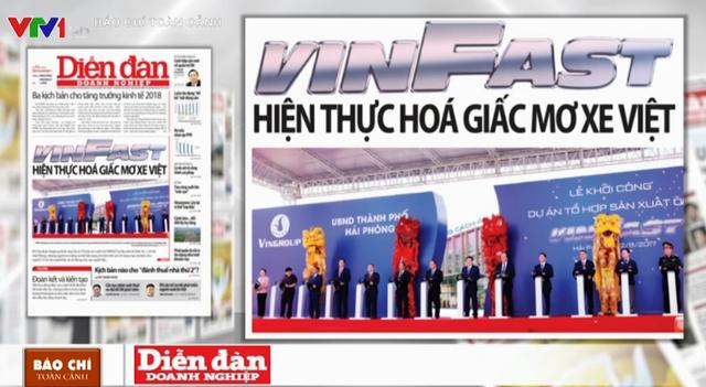 Giấc mơ ô tô Việt và cuộc chơi 3,5 tỷ USD của VINFAST - Ảnh 1.