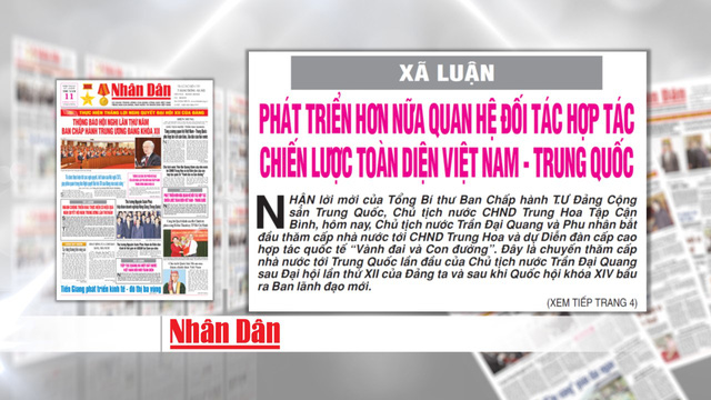 Phát triển hơn nữa quan hệ đối tác hợp tác chiến lược toàn diện Việt Nam – Trung Quốc - Ảnh 2.