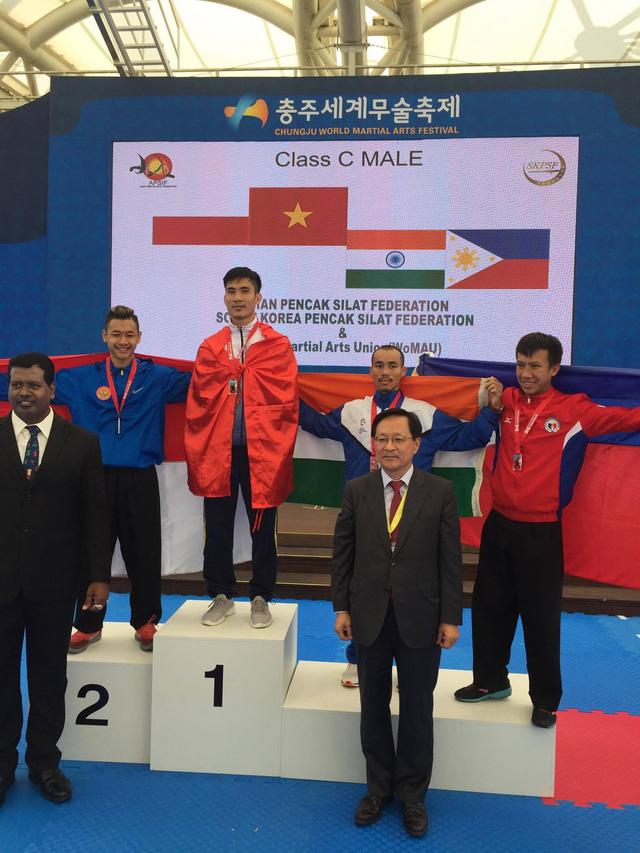Pencak Silat Việt Nam thắng lớn tại giải vô địch châu Á - Ảnh 1.
