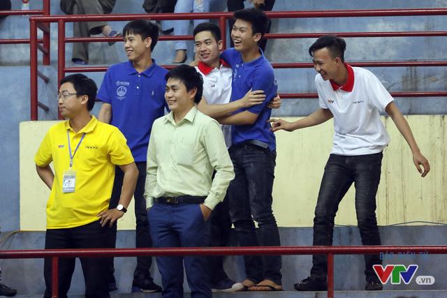 """Robocon Việt Nam 2017: """"Nghẹt thở"""" với những màn cản phá trên sân - Ảnh 35."""