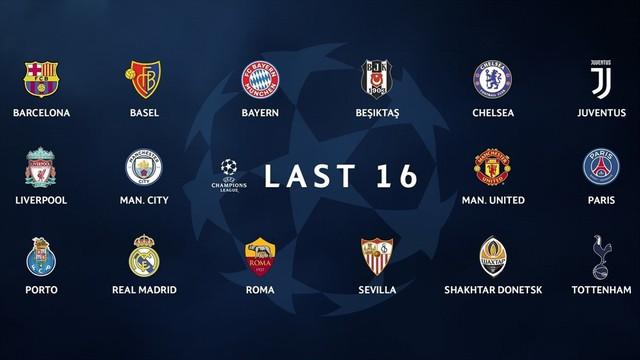 Xác định 16 đội góp mặt vòng 1/8 Champions League: Bóng đá Anh làm nên lịch sử - Ảnh 1.