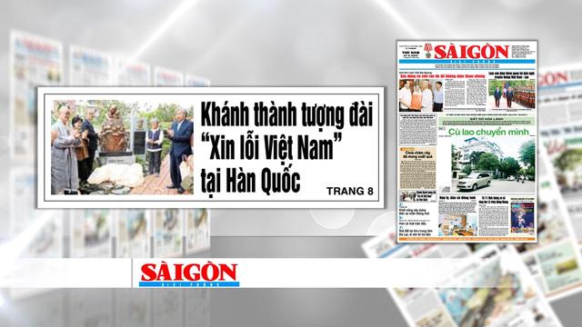 """Khánh thành tượng đài """"Xin lỗi Việt Nam"""" ở Hàn Quốc - Ảnh 1."""