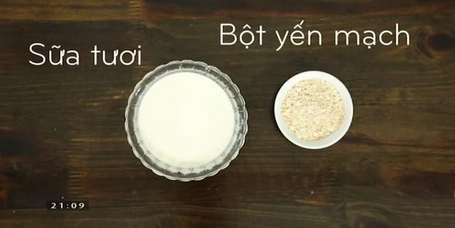 Cách trộn mặt nạ sữa tươi cho làn da ngày Đông - Ảnh 1.