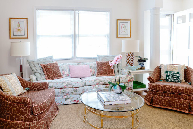 Biến không gian nhà ở sinh động bằng nhiều vật dụng mang họa tiết - Ảnh 1.