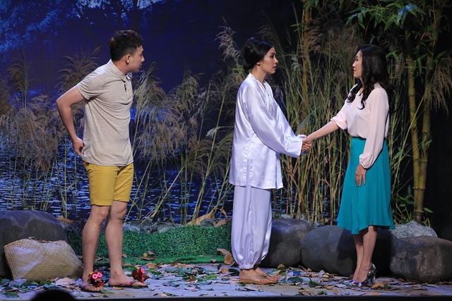 Ơn giời! Cậu đây rồi!: Người đẹp Tây Đô Việt Trinh đối mặt với tình huống thê thảm - Ảnh 1.