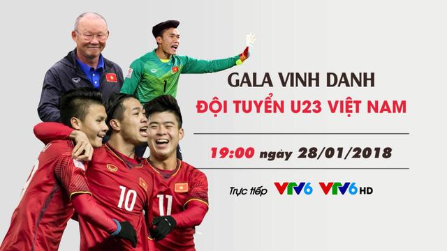 CHÍNH THỨC: Đài THVN trực tiếp Lễ đón và Gala vinh danh ĐT U23 Việt Nam - Ảnh 3.