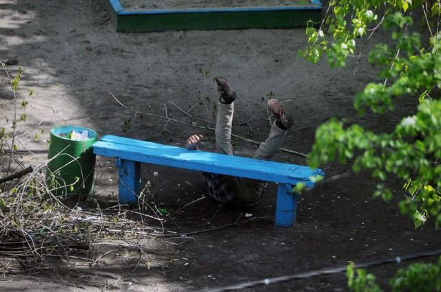 Nhiếp ảnh gia 10 năm chỉ chụp 1 chiếc ghế băng công viên - Ảnh 4.