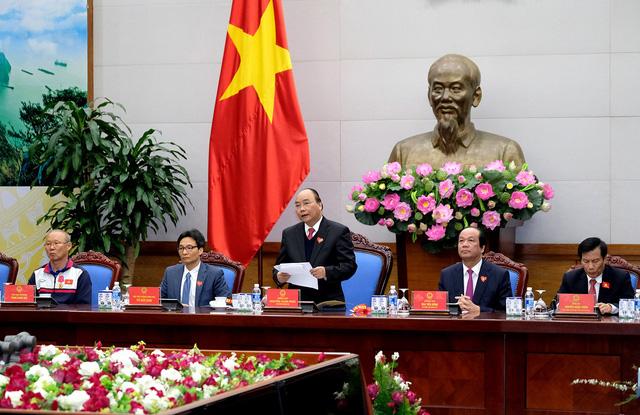 Thủ tướng Chính phủ Nguyễn Xuân Phúc gặp mặt ĐT U23 Việt Nam - Ảnh 2.