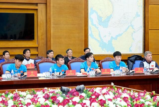 Thủ tướng Chính phủ Nguyễn Xuân Phúc gặp mặt ĐT U23 Việt Nam - Ảnh 3.
