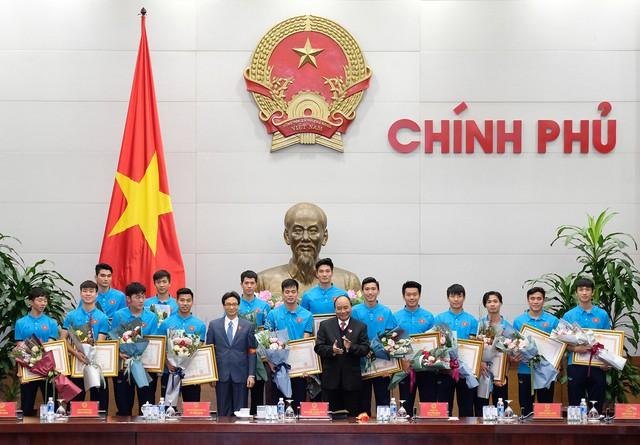 Thủ tướng Chính phủ Nguyễn Xuân Phúc gặp mặt ĐT U23 Việt Nam - Ảnh 4.