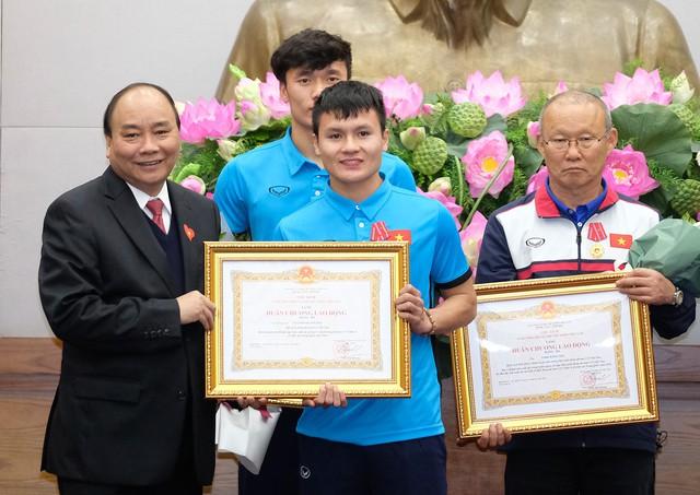 Thủ tướng Chính phủ Nguyễn Xuân Phúc gặp mặt ĐT U23 Việt Nam - Ảnh 5.