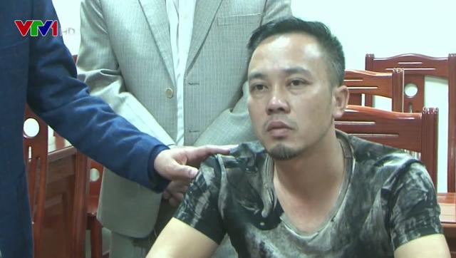 Bắt nghi phạm cướp 1,1 tỷ đồng tại ngân hàng Agribank Bắc Giang - Ảnh 1.