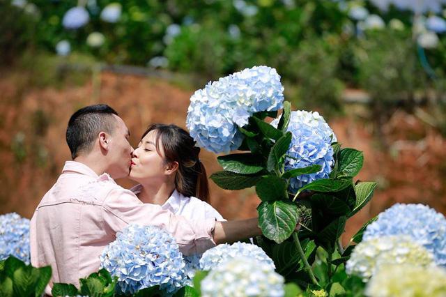 MC Hoàng Linh Chúng tôi là chiến sĩ tung ảnh cưới đẹp như mơ tại Đà Lạt - Ảnh 7.
