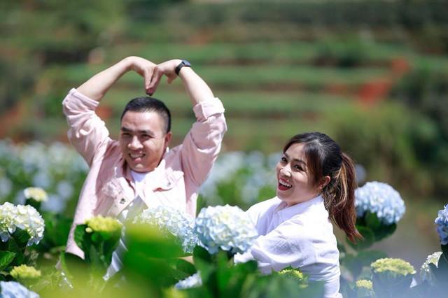 MC Hoàng Linh Chúng tôi là chiến sĩ tung ảnh cưới đẹp như mơ tại Đà Lạt - Ảnh 11.