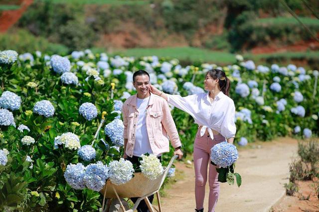 MC Hoàng Linh Chúng tôi là chiến sĩ tung ảnh cưới đẹp như mơ tại Đà Lạt - Ảnh 12.