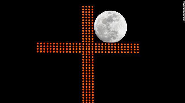 """Đẹp kì diệu trăng xanh, trăng máu và siêu trăng """"3 trong 1"""" trong đêm 31/1 - Ảnh 11"""