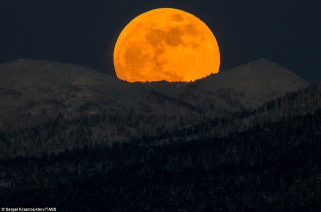 """Đẹp kì diệu trăng xanh, trăng máu và siêu trăng """"3 trong 1"""" trong đêm 31/1 - Ảnh 4"""