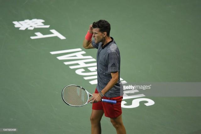Thượng Hải Masters 2018: Marin Cilic và Dominic Thiem bị loại sớm, Djokovic thẳng tiến - Ảnh 2.