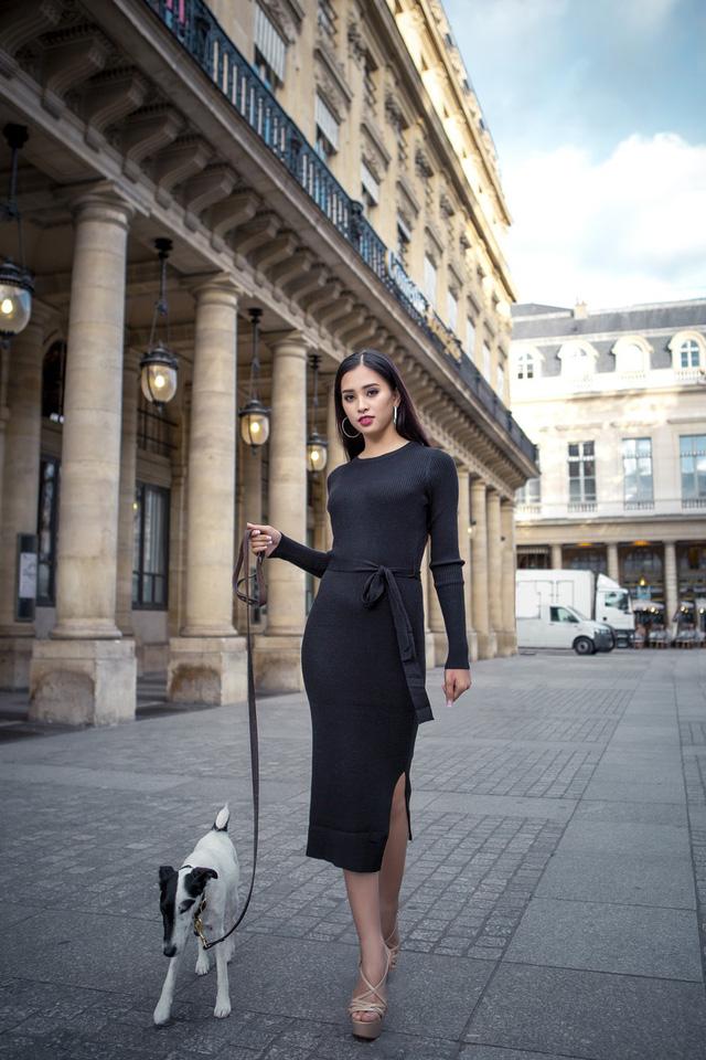 Hoa hậu Tiểu Vy khoe trọn bộ ảnh đẹp say đắm tại Pháp - Ảnh 15.