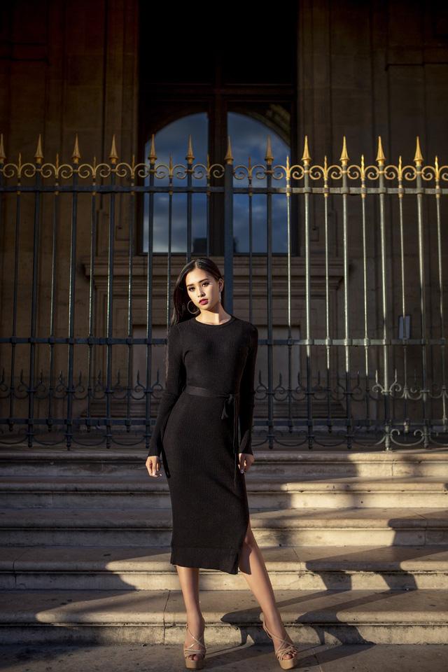 Hoa hậu Tiểu Vy khoe trọn bộ ảnh đẹp say đắm tại Pháp - Ảnh 14.