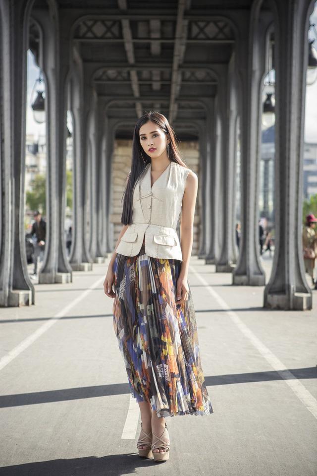 Hoa hậu Tiểu Vy khoe trọn bộ ảnh đẹp say đắm tại Pháp - Ảnh 8.