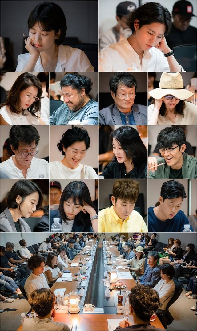 Hậu trường buổi đọc kịch bản của Song Hye Kyo và Park Bo Gum - Ảnh 3.