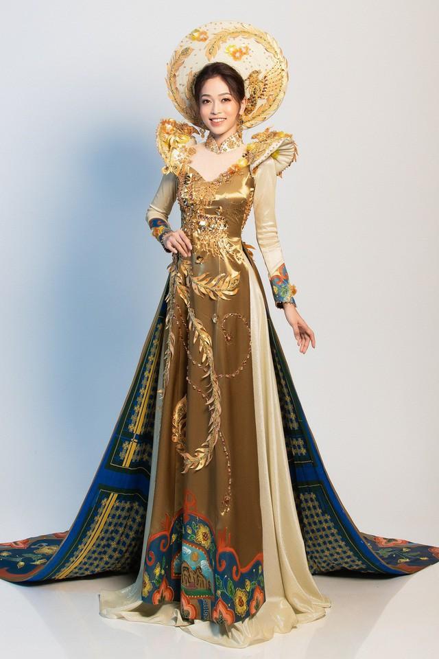 Hé lộ bộ trang phục dân tộc Á hậu Phương Nga dự thi Miss Grand International 2018 - Ảnh 1.