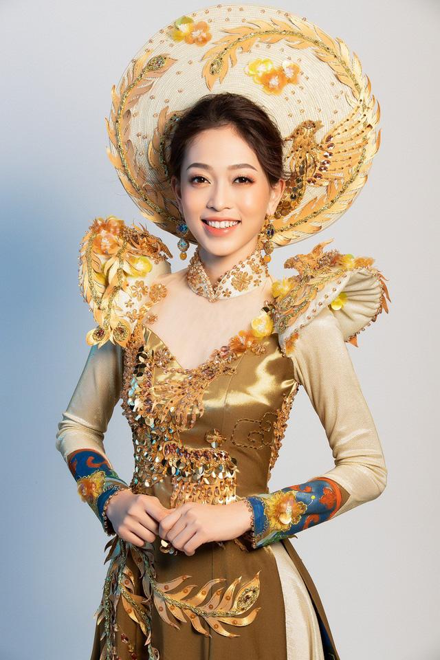 Hé lộ bộ trang phục dân tộc Á hậu Phương Nga dự thi Miss Grand International 2018 - Ảnh 3.