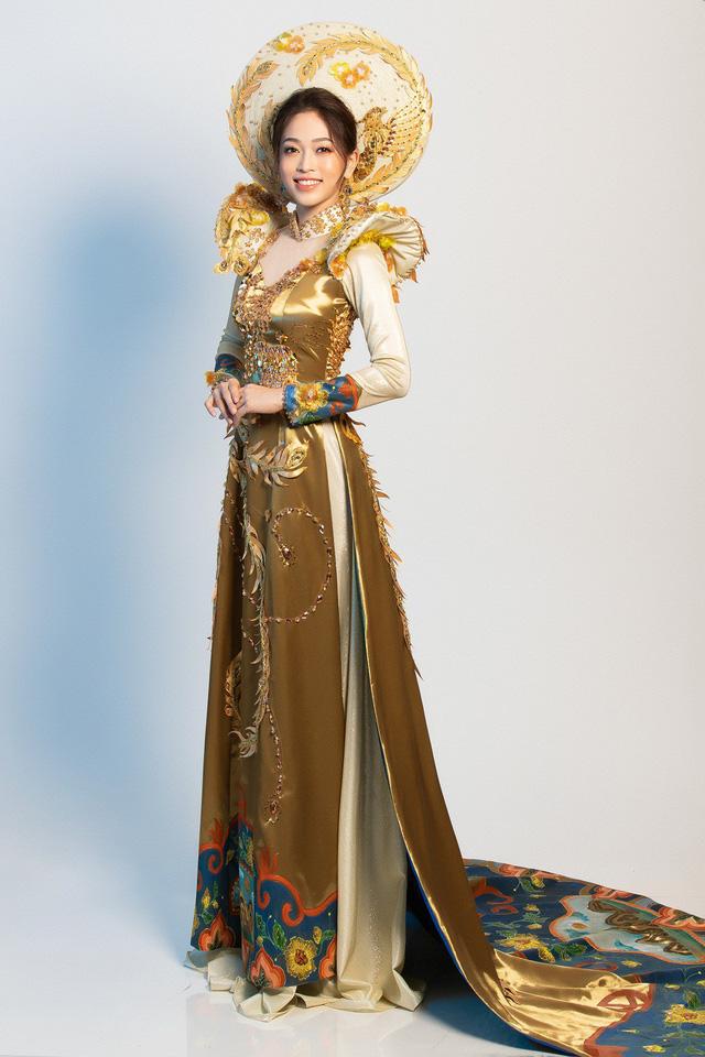 Hé lộ bộ trang phục dân tộc Á hậu Phương Nga dự thi Miss Grand International 2018 - Ảnh 5.