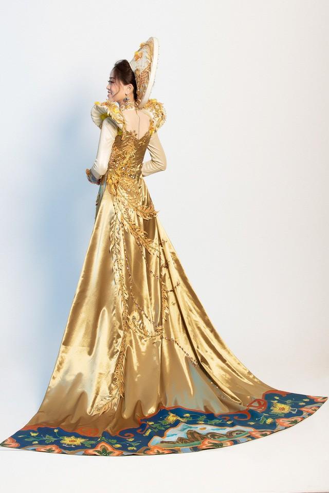 Hé lộ bộ trang phục dân tộc Á hậu Phương Nga dự thi Miss Grand International 2018 - Ảnh 7.