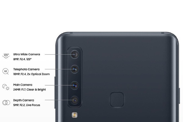 Lộ diện ảnh thực tế và thông số kỹ thuật của smartphone với 4 camera sau - Ảnh 1.