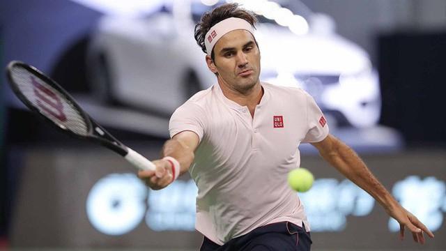 Vượt qua Bautista Agut, Roger Federer vào tứ kết Thượng Hải Masters 2018 - Ảnh 1.