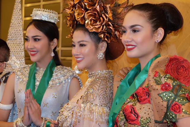 Đại diện Việt Nam giành giải Vàng trang phục dân tộc châu Á và Châu Đại dương tại Miss Earth 2018 - Ảnh 3.