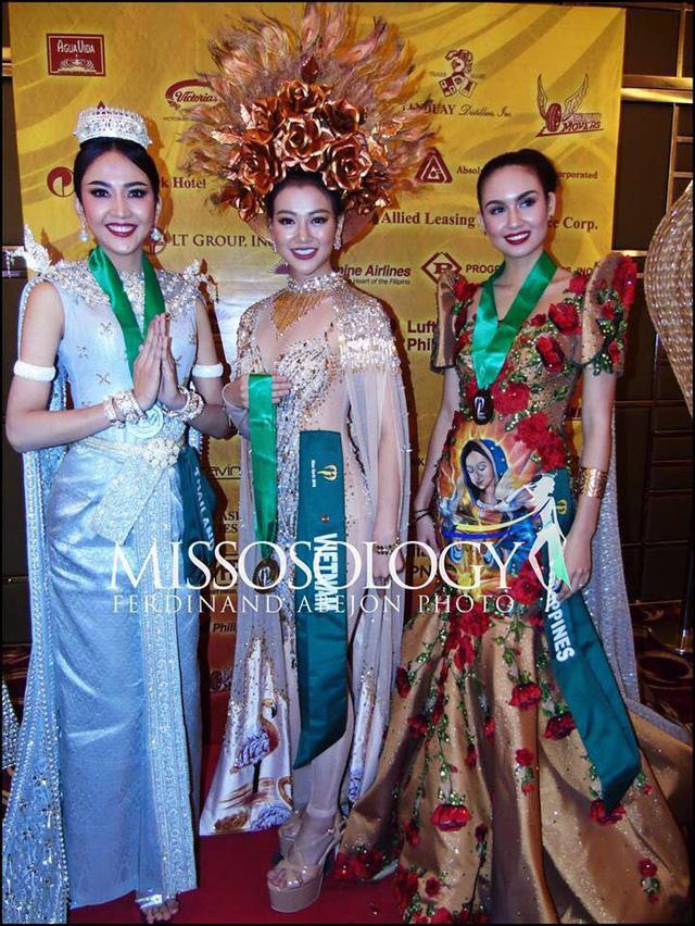 Đại diện Việt Nam giành giải Vàng trang phục dân tộc châu Á và Châu Đại dương tại Miss Earth 2018 - Ảnh 4.