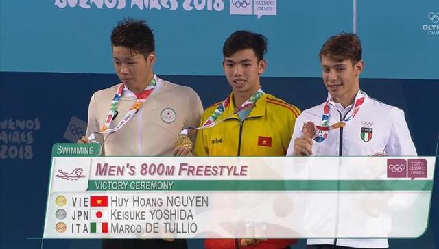 Thế vận hội Olympic trẻ 2018: Huy Hoàng xuất sắc giành HCV thứ 2 cho Thể thao Việt Nam - Ảnh 2.