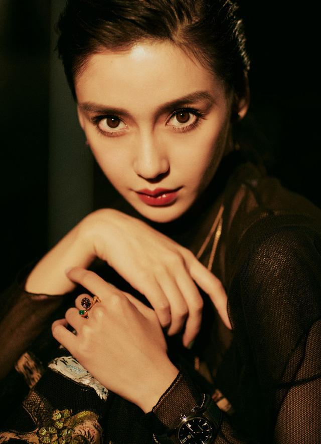 Angelababy đẹp cuốn hút với sắc đen - Ảnh 8.