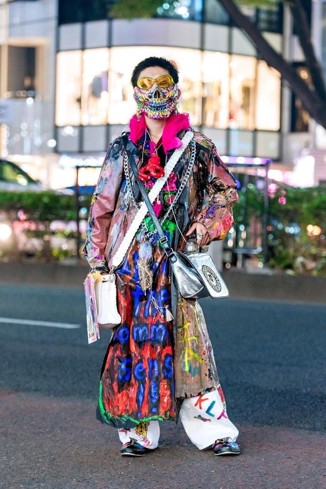 Street Style tại Tuần lễ thời trang Tokyo Xuân 2019 có gì hot? - Ảnh 12.