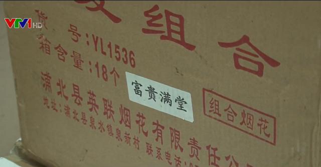 Phát hiện vụ vận chuyển gần 300kg pháo nổ tại Nghệ An - Ảnh 1.