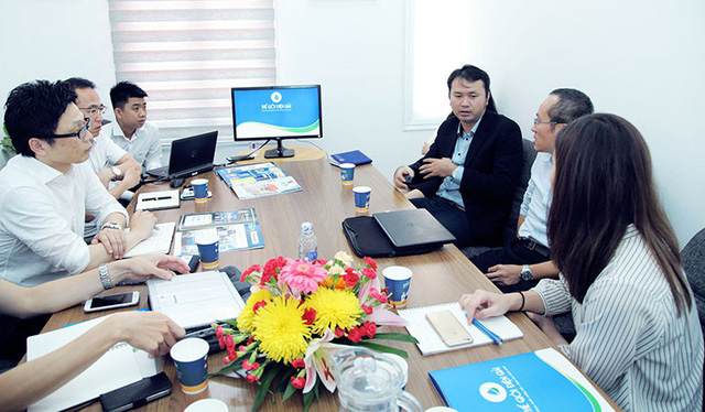 Đoàn Lãnh đạo tập đoàn Panasonic họp bàn chiến lược cùng Thế Giới Điện Giải - Ảnh 1.