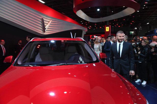 David Beckham đẹp trai khó cưỡng tại buổi ra mắt xe của Vinfast - Ảnh 9.