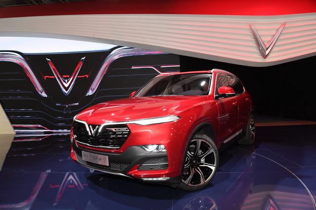 Cận ảnh hai mẫu xe siêu chất của Vinfast tại Paris Motor Show 2018 - Ảnh 4.