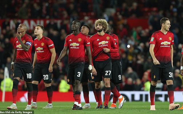 """Man Utd thời Mourinho ghi bàn """"cùn"""" hơn cả thời Moyes - Ảnh 1."""