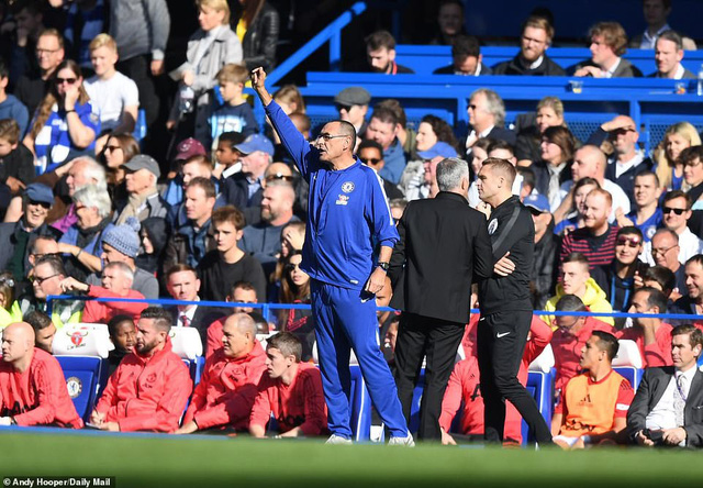 ẢNH: Chelsea hòa kịch tính trước Man Utd tại Stamford Bridge - Ảnh 1.