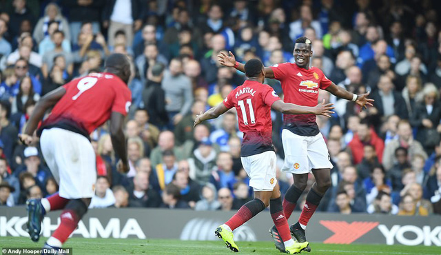 ẢNH: Chelsea hòa kịch tính trước Man Utd tại Stamford Bridge - Ảnh 12.