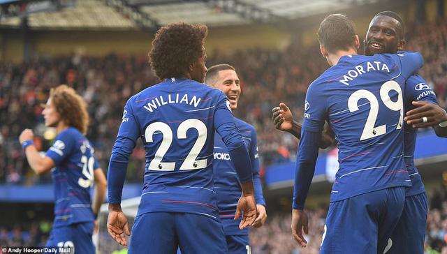 ẢNH: Chelsea hòa kịch tính trước Man Utd tại Stamford Bridge - Ảnh 7.