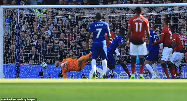 ẢNH: Chelsea hòa kịch tính trước Man Utd tại Stamford Bridge - Ảnh 8.