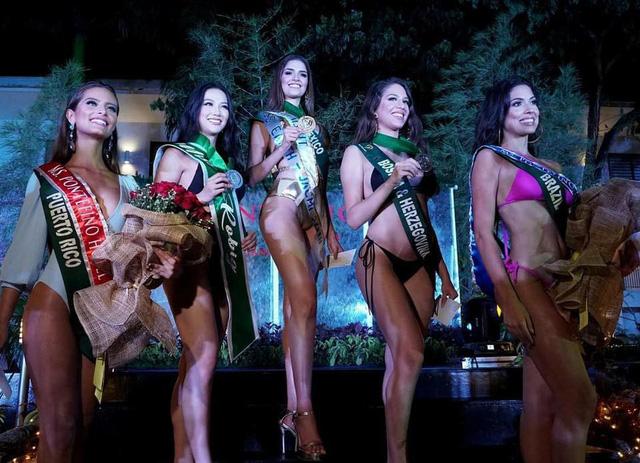 Nguyễn Phương Khánh giành giải Bạc phần thi bikini tại Miss Earth 2018 - Ảnh 1.