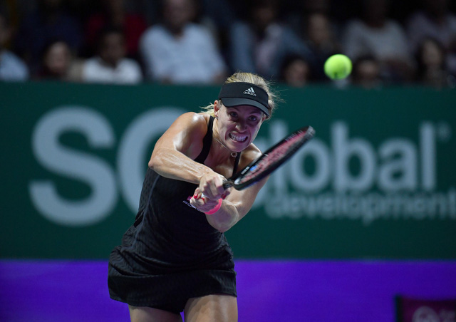 Bảng đỏ WTA Finals 2018: Kerber, Osaka thất bại trận ra quân - Ảnh 3.